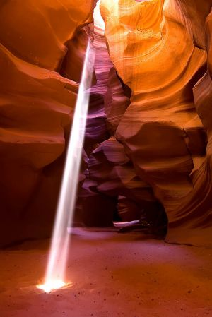 Antelope Canyon Sunbeam 1.jpg